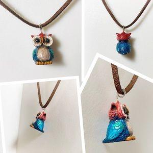 Jewelry - Little Owl Pendant Necklace